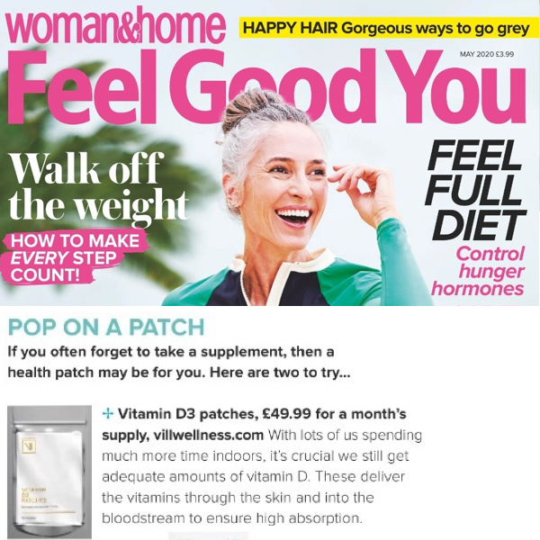 Woman and Home - June 2020 - Pop On A Patch - Vitamin Injections London